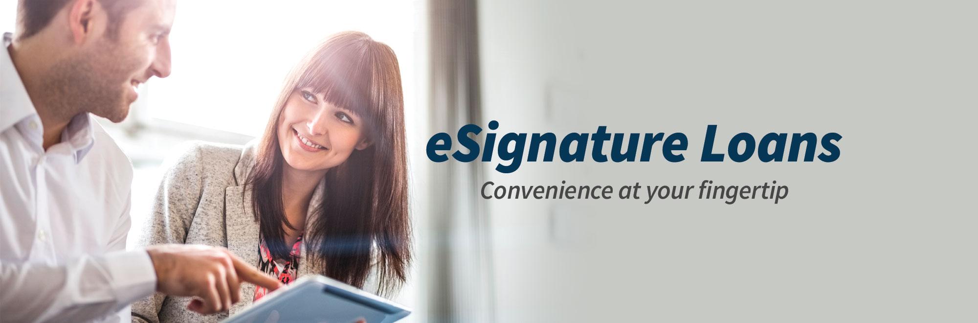 eSignature Loans